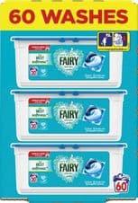 Fairy Non Bio Pods - 57 Wash